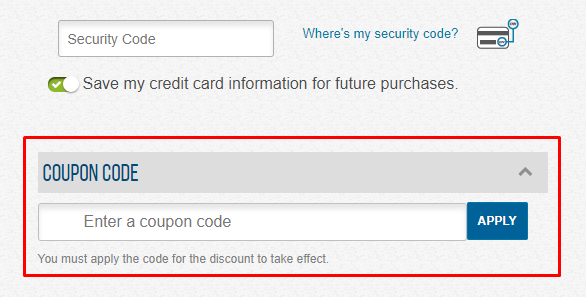 How do I use my Cengage coupon code?
