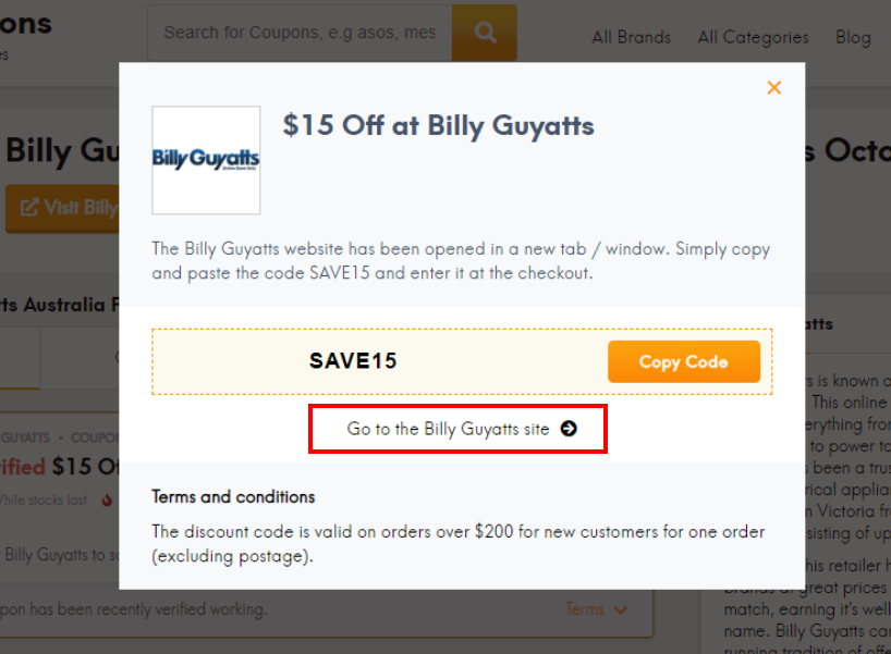 go to Billy Guyatts site