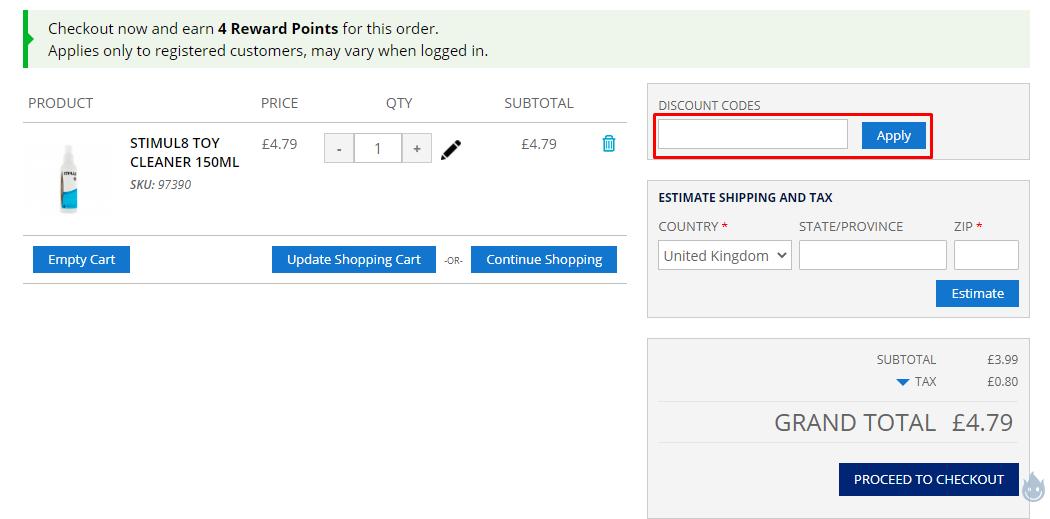 How do I use my Esmale discount code?