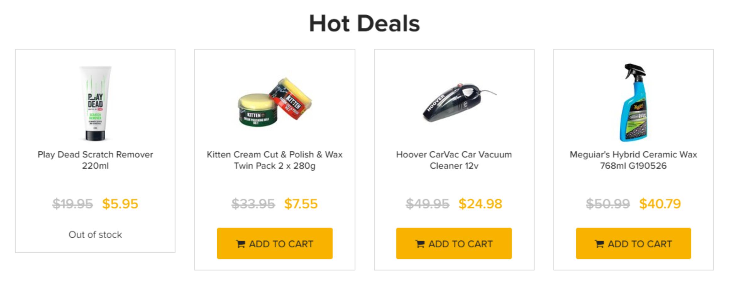 Automotive Superstore Hot Deals
