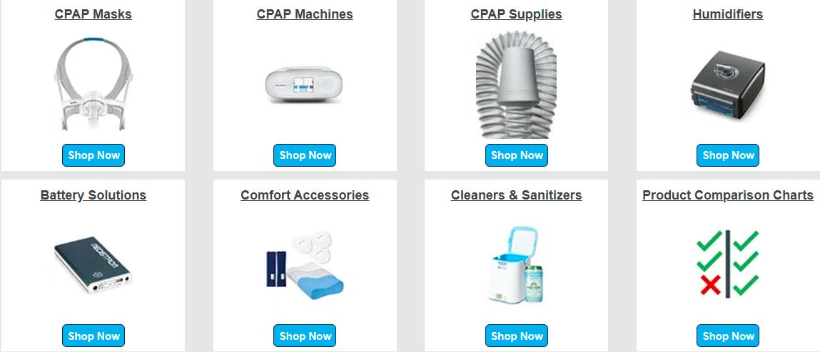 About The CPAP Shop Sale