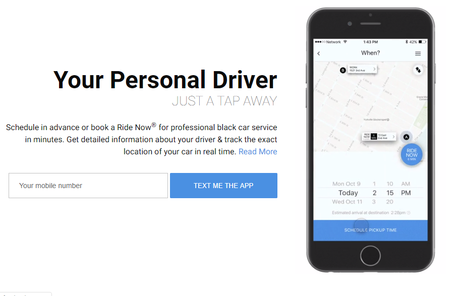 GroundLink Personal Drive App