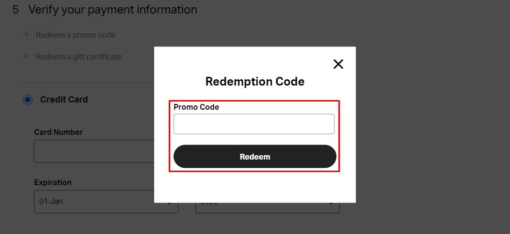 How do I use my Backcountry promo code?
