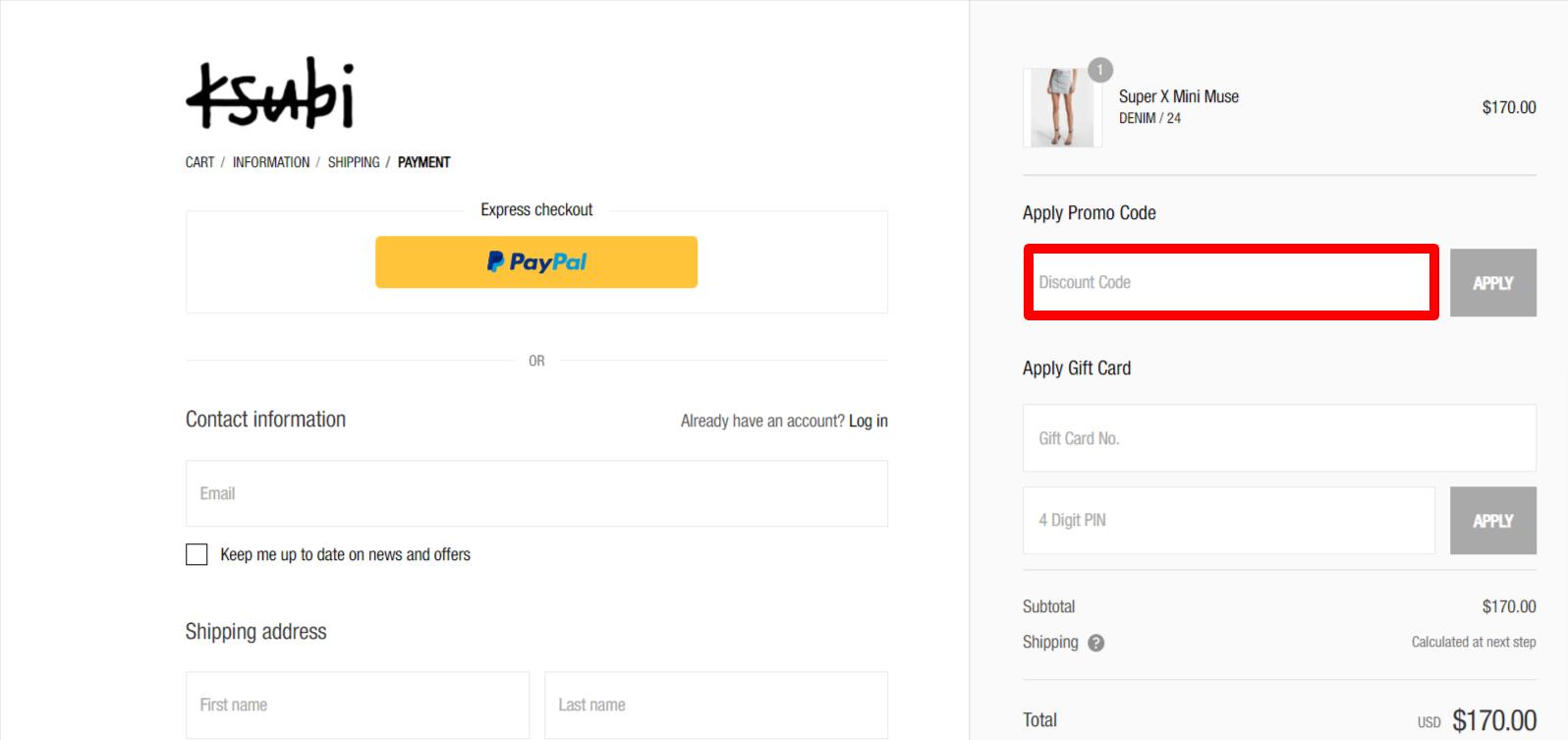 Ksubi Discount Code AU Site