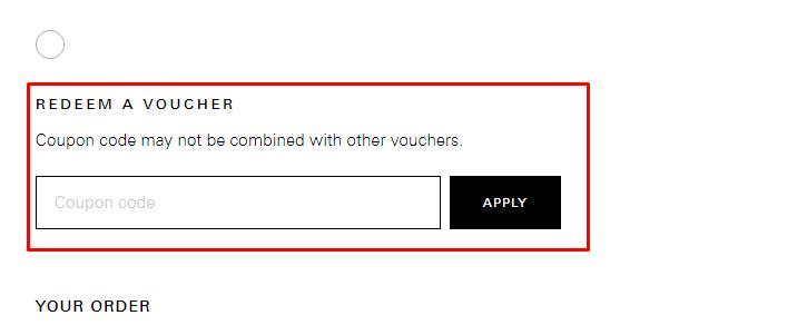 How do I use my Hugo Boss voucher code?