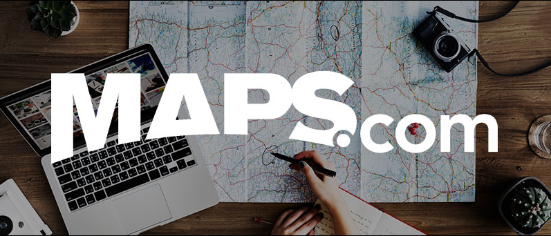 About MAPS.com Homepage
