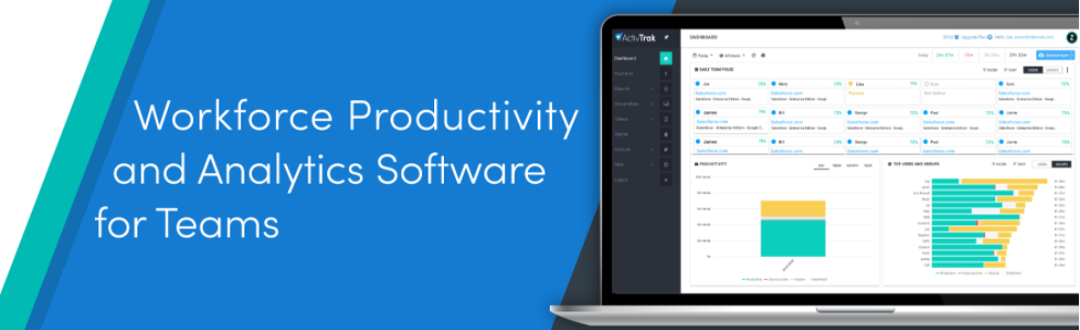 About ActivTrak Homepage