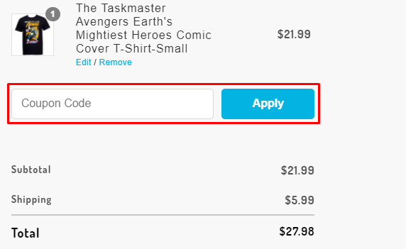 How do I use my SuperHeroStuff coupon code?