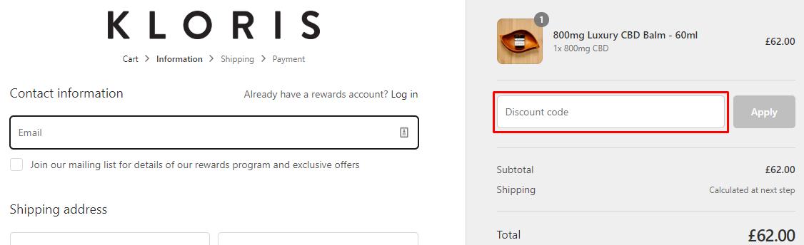 How do I use my Krack coupon code?
