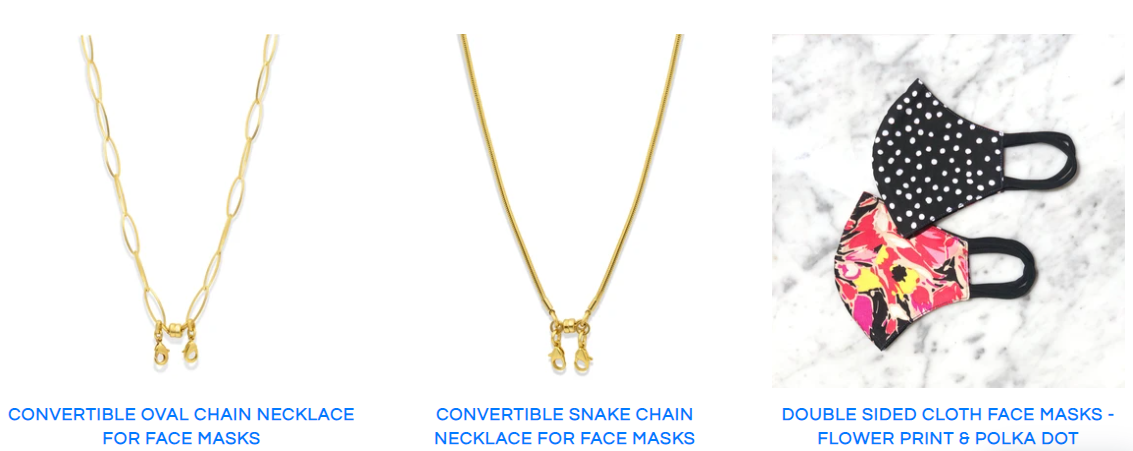 About Camille Jewelry Homepage