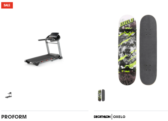 About Decathlon Homepage