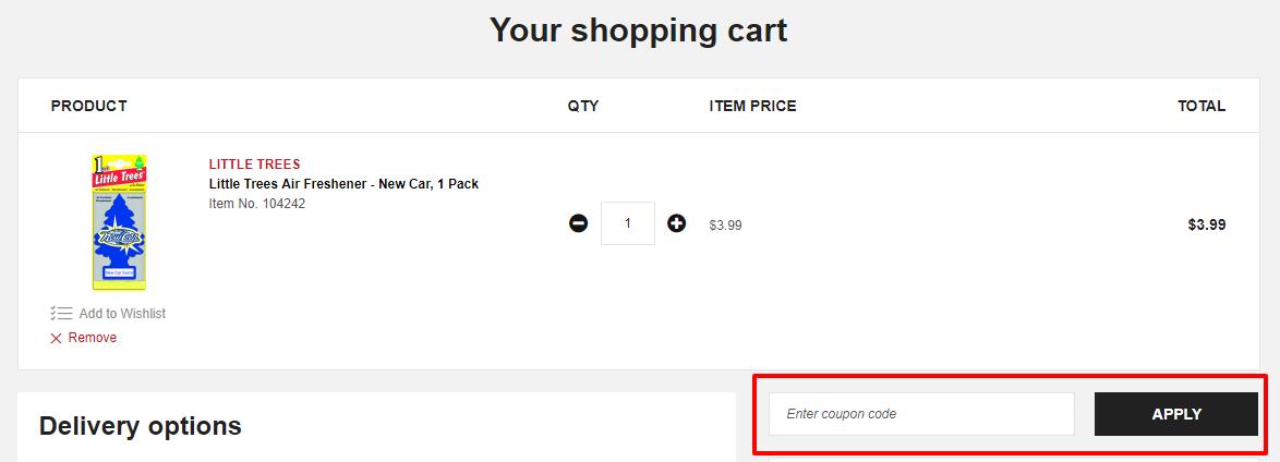How do I use my Supercheap Auto discount code?