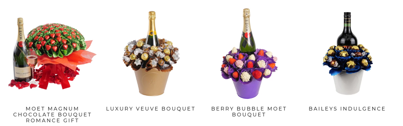 Edible Blooms Anniversary Gifts