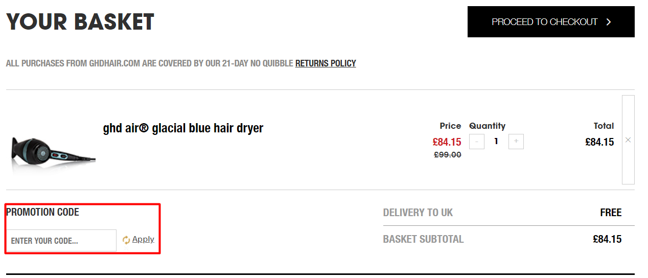 How Do I use my ghd discount code?