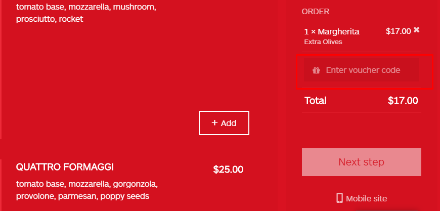 How do I use my Scopa Caffe Cucina discount code?