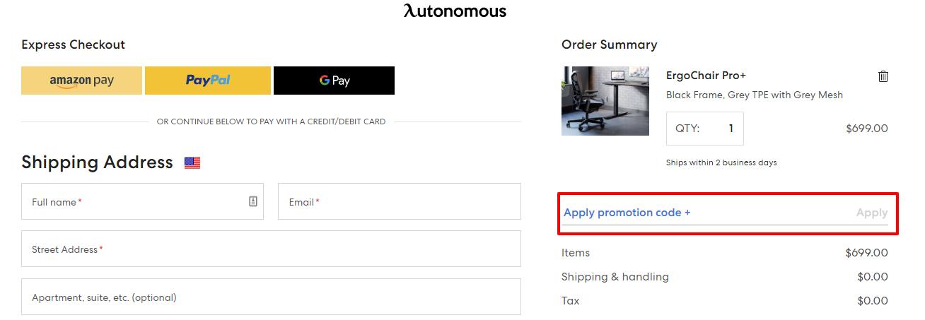Checkout Autonomous