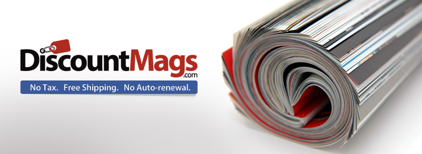 About DiscountMags.com Homepage