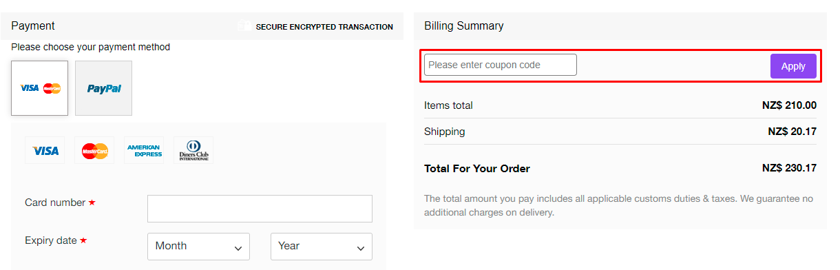How do I use my NICCE coupon code?