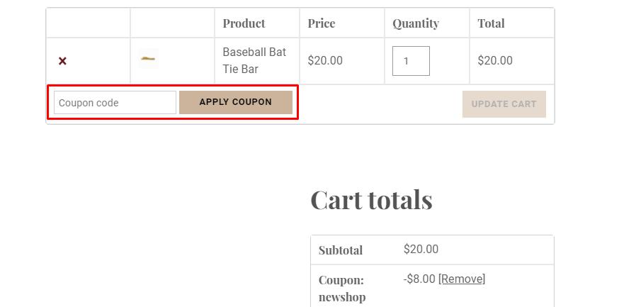 How do I use my Gentleman's Box coupon code?