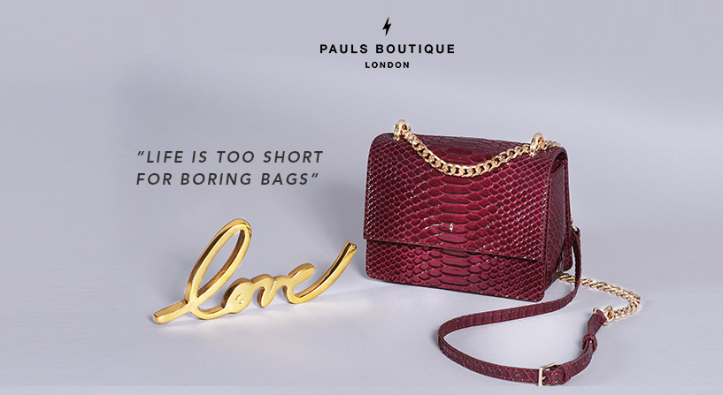 About Pauls Boutique Homepage
