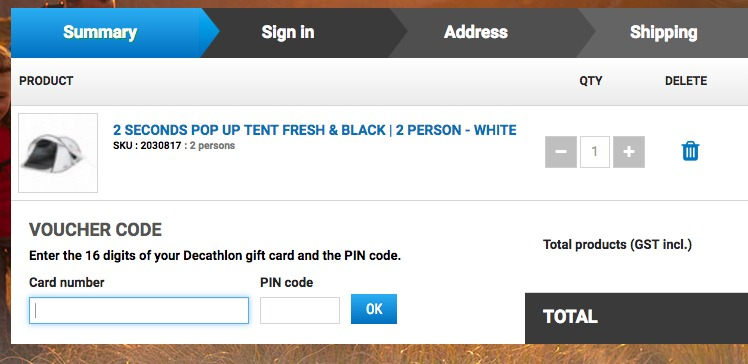 How to use a Decathlon discount coupon code