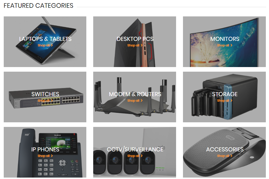 Device Deal Featured Categories