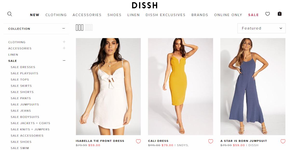 Dissh Sales