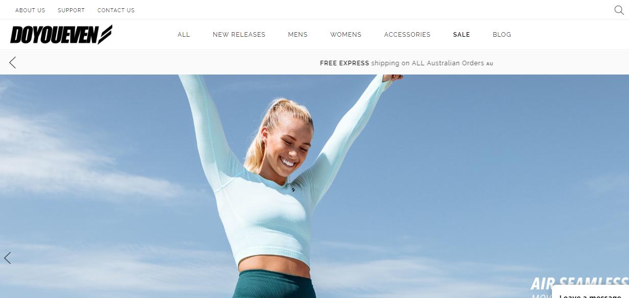 DOYOUEVEN Homepage