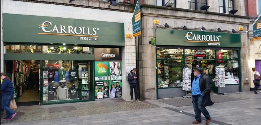 About Carrolls Irish Gifts Homepage