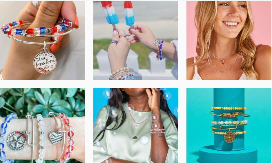 About ALEX AND ANI Homepage