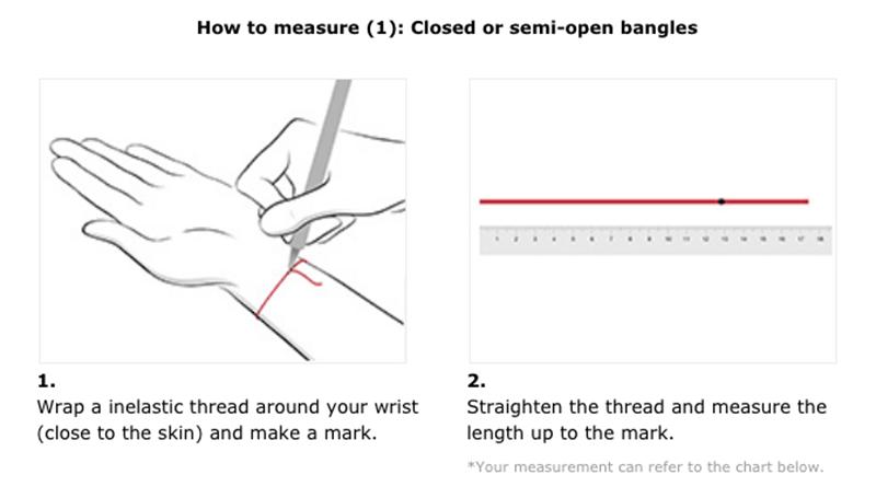 Chow Sang Sang Bracelet Size Guide 2