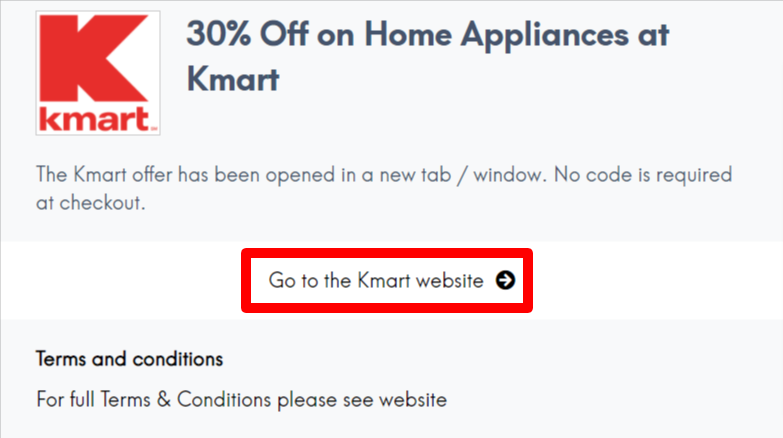 Kmart Coupon and Discounts Codes AU LC Sites
