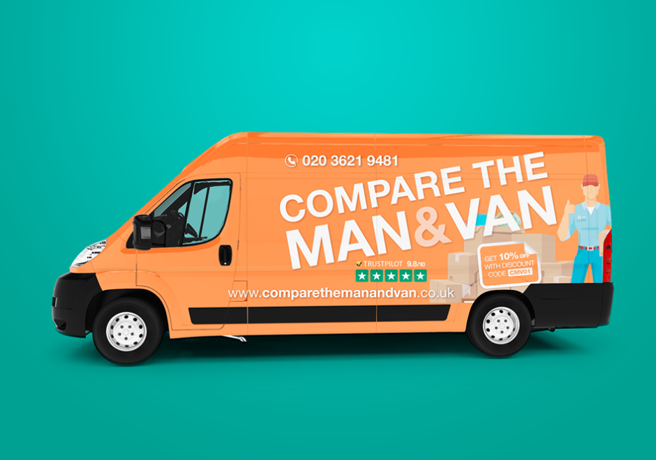 About Compare the Man and Van Homepage