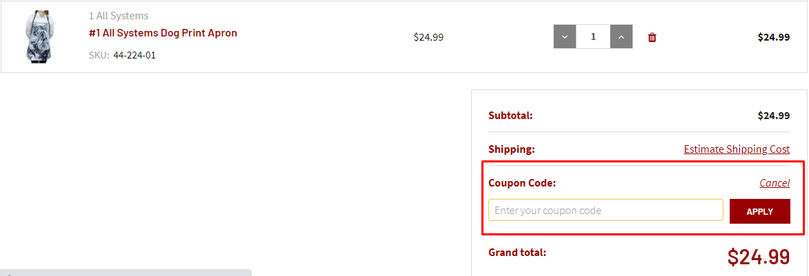 How do I use my Cherrybrook coupon code?