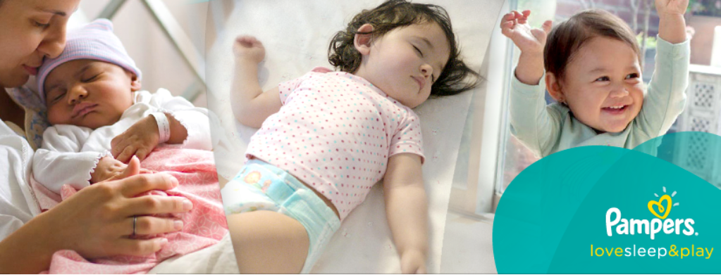 About Pampers Homepage