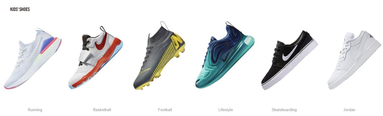 Nike Store Kids Shoes