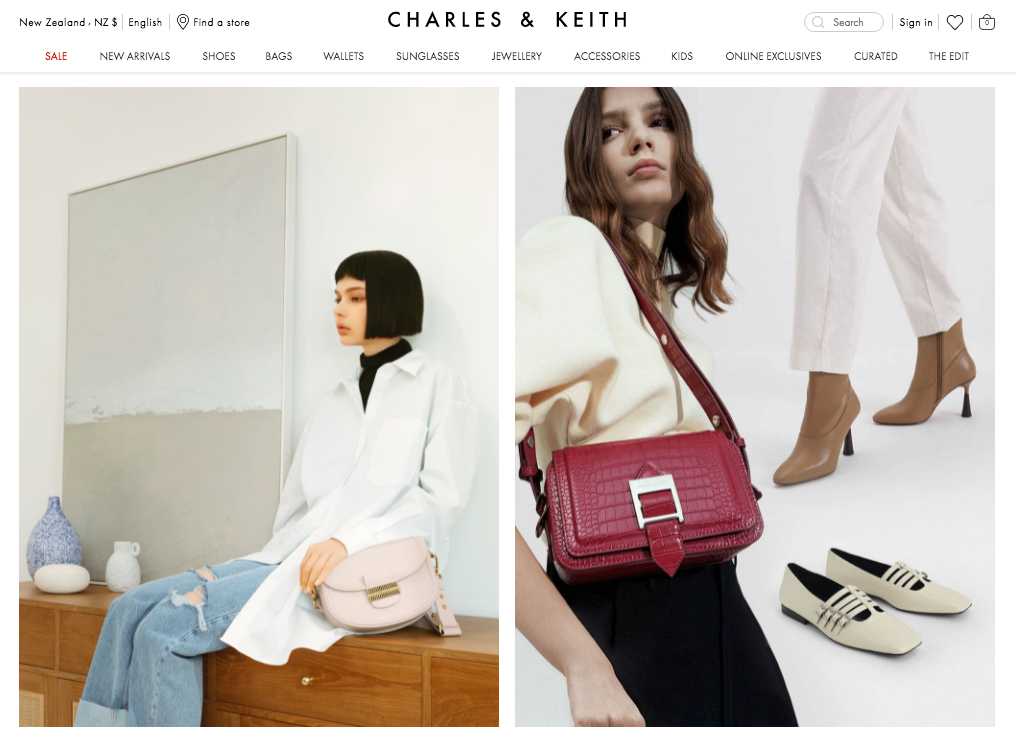Charles & Keith NZ About Us