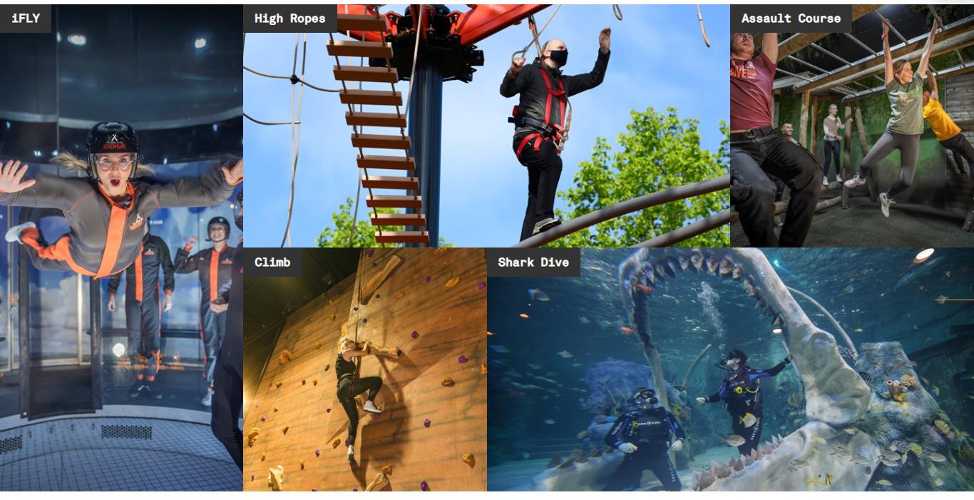 Bear Grylls Adventure center