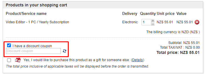 How do I use my Gilisoft discount code?