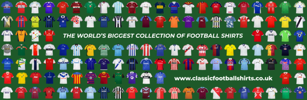 About Classic Football Shirts Homepage