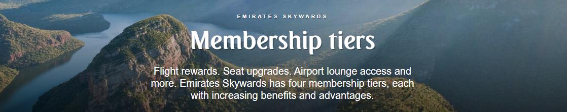Emirates mem tiers