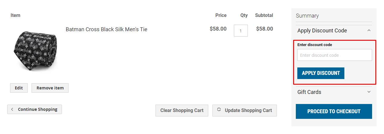 How do I use my CuffLinks.com discount code?