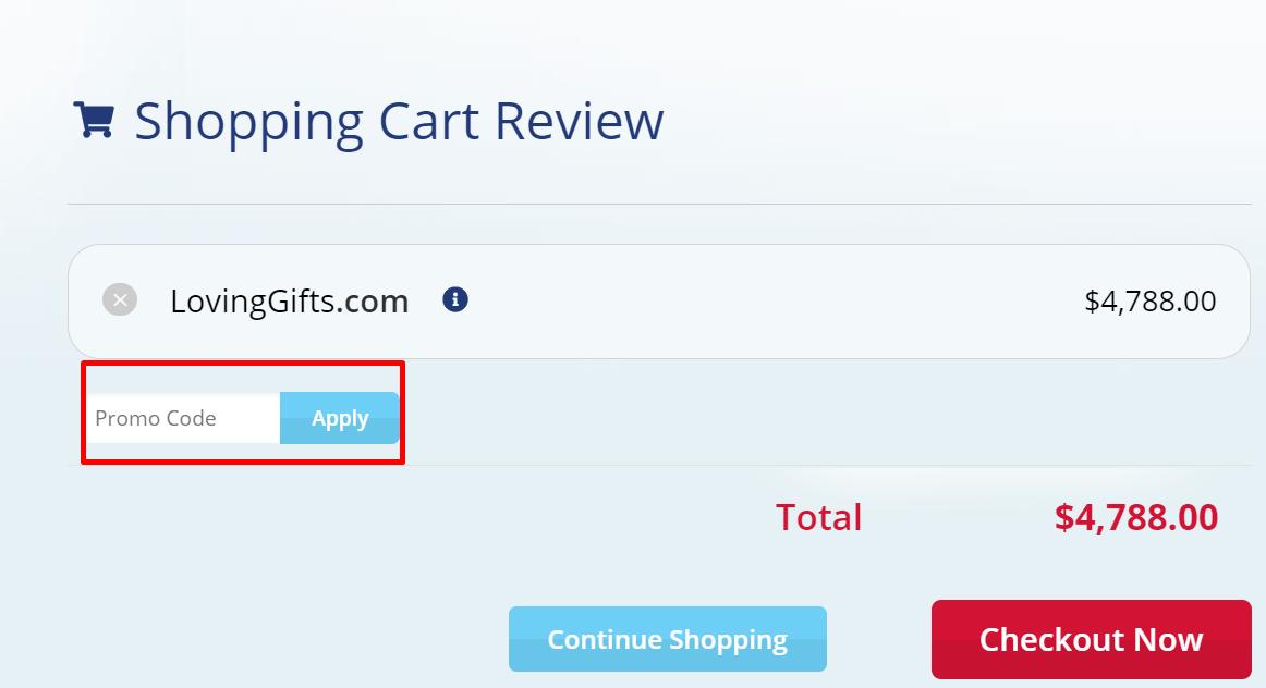 How do I use my BuyDomains.com promo code?