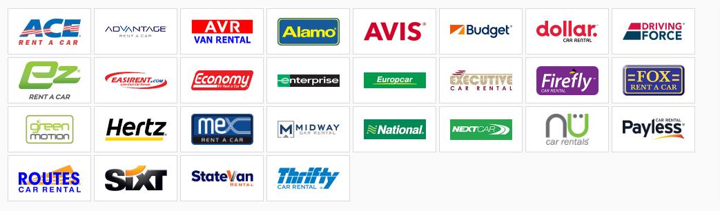 AirportCarRental.com suppliers