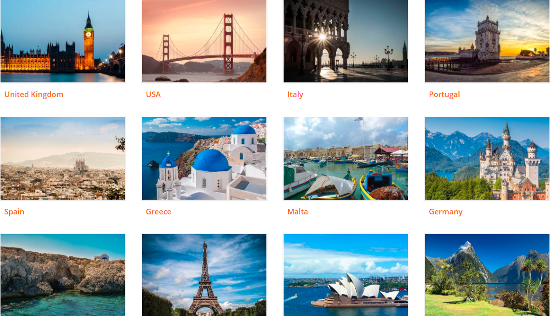 About Enjoy Travel Homepage