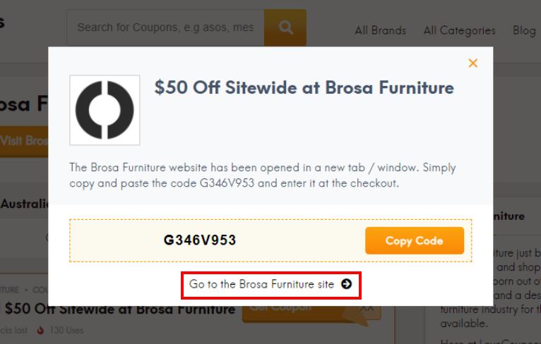 go to Brosa Furniture site