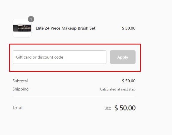 How do I use my Coastal Scents discount code?