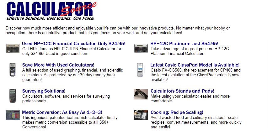 CalculatorSource about us