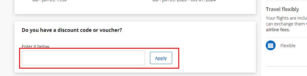 How do I use my Bravofly discount code?