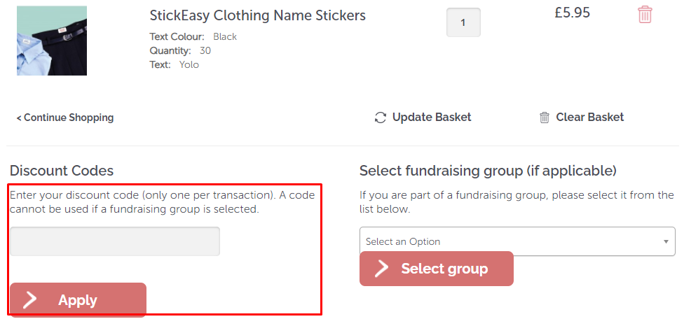How do I use my Easy2Name discount code?